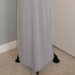 Dresses - Long Grey Maxi Dress